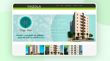 Site Construtora Gazola