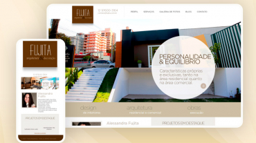 Site Fujita Arquitetura e Decoração