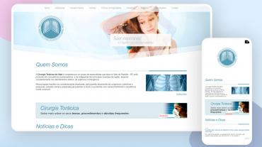 Site Cirurgia Torácica do Vale