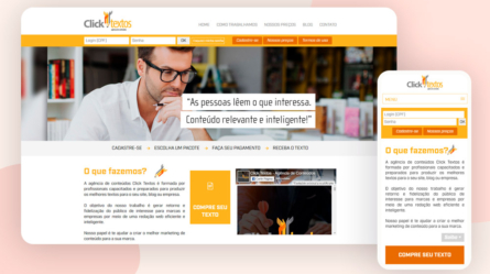 Site Click Textos