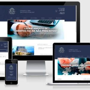 Previnia - Site responsivo