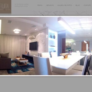 Site Fujita Arquitetura e Decoração - Obra