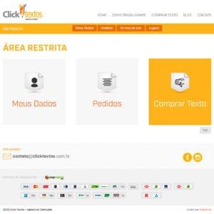 Click Textos - Área Restrita