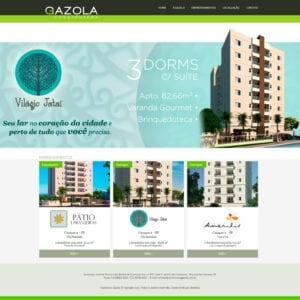 Construtora Gazola - Página Inicial