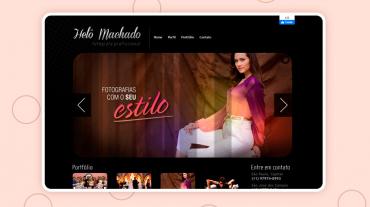 Site Helô Machado