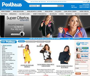 Posthaus - 400% mais e-commerce