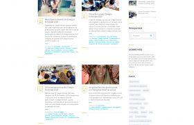 Print da seção Blog do site Apotec Vestibulinhos SJC