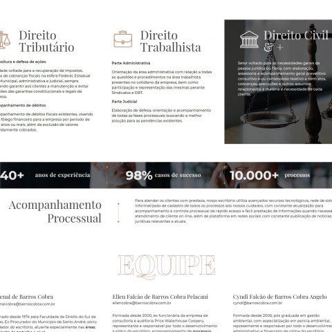 Barros Cobra Advogados - Áreas de Atuação